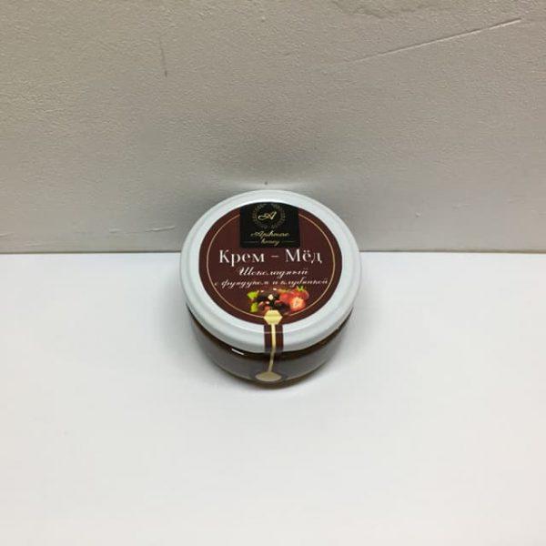 Крем мёд шоколадный с фундуком и клубникой Харьков