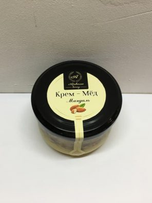 Крем мед с миндалем