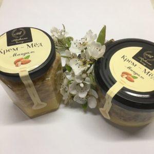 Крем мёд с миндалем