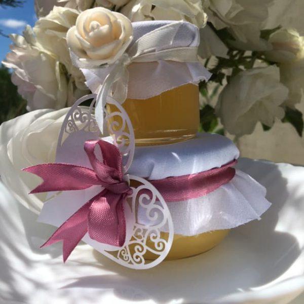 Баночки с мёдом на свадьбу