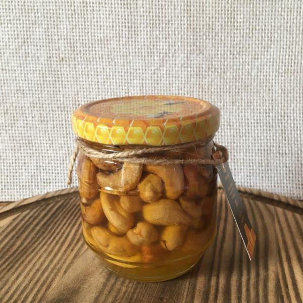 мед с орехом кешью