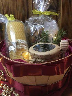 Подарочная Корзина на Рождество