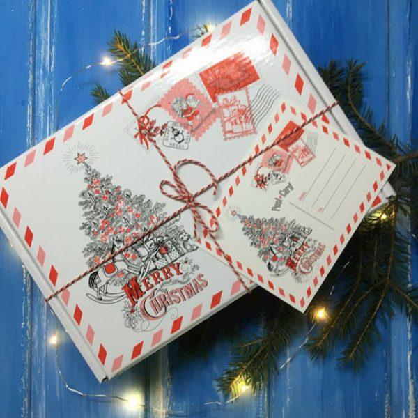 Подарочных бокс Новогодняя Почта