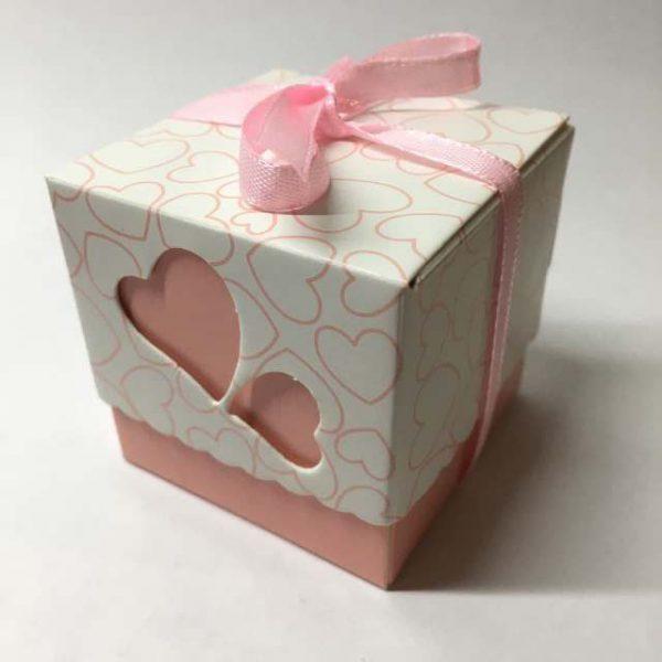 Коробочки Бонбоньерки Розовые