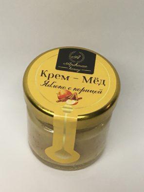 Крем Мед с корицей и яблоком