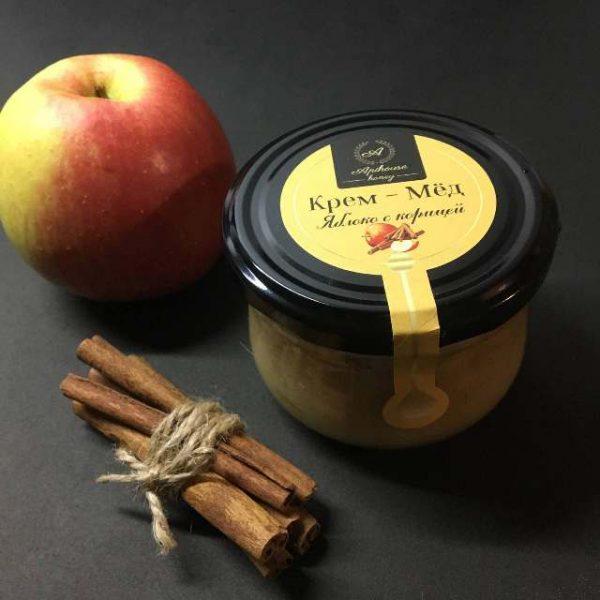 Крем Мед яблоко корица