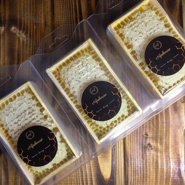 Мёд в сотах Мини рамка 200 грамм