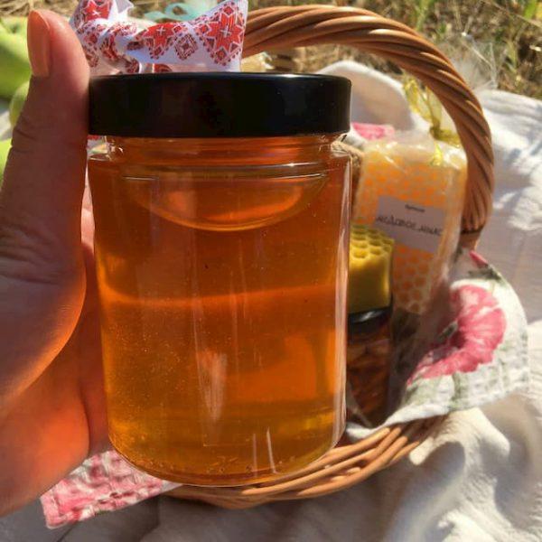 Подарочные корзины с мёдом